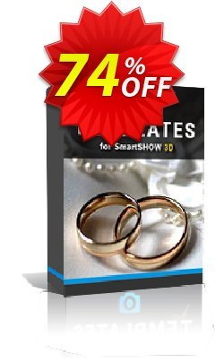 "SmartSHOW 3D - ""3D Wedding Album"" Templates Coupon discount ?????? PCC 9.0 PRO -"