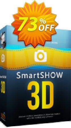SmartSHOW 3D Standard - 1 year license  Coupon discount 80% OFF SmartSHOW 3D Standard (1 year license), verified - Staggering discount code of SmartSHOW 3D Standard (1 year license), tested & approved