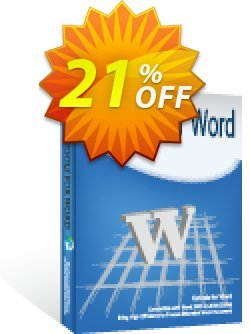 Kutools for Word Coupon discount 30% OFF Kutools for Word, verified - Wonderful deals code of Kutools for Word, tested & approved