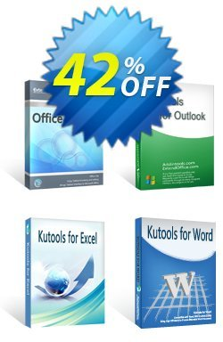 Office Tab + Kutools for Excel / Outlook / Word Coupon discount 30% OFF Office Tab + Kutools for Excel / Outlook / Word, verified - Wonderful deals code of Office Tab + Kutools for Excel / Outlook / Word, tested & approved