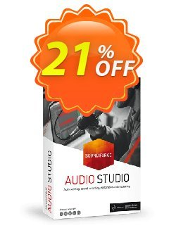 MAGIX SOUND FORGE Audio Studio 14 Coupon discount 33% OFF MAGIX SOUND FORGE Audio Studio 13 2020 - Special promo code of MAGIX SOUND FORGE Audio Studio 13, tested in {{MONTH}}