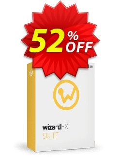 wizardFX Suite Coupon discount 50% OFF wizardFX Suite, verified. Promotion: Special promo code of wizardFX Suite, tested & approved