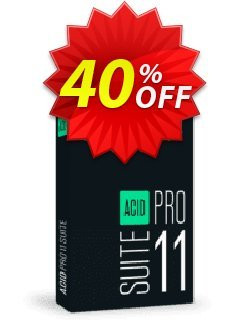 ACID Pro Suite 10 Coupon discount 40% OFF ACID Pro Suite 10, verified - Special promo code of ACID Pro Suite 10, tested & approved