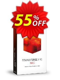 MAGIX SOUND FORGE Pro Mac Coupon discount 55% OFF MAGIX SOUND FORGE Pro Mac 2020 - Special promo code of MAGIX SOUND FORGE Pro Mac, tested in {{MONTH}}