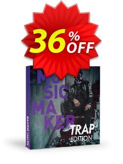 Music Maker Trap Edition Coupon discount 35% OFF Music Maker Trap Edition, verified - Special promo code of Music Maker Trap Edition, tested & approved