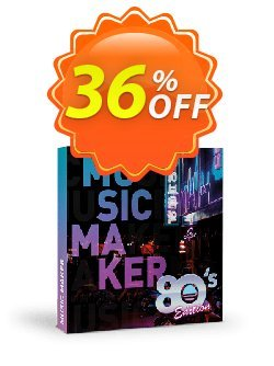 Music Maker 80s Edition Coupon discount 33% OFF Music Maker 80s Edition, verified - Special promo code of Music Maker 80s Edition, tested & approved