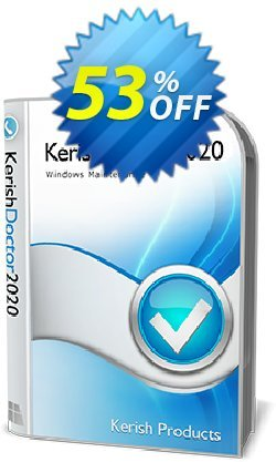 Kerish Doctor - License Key for 2 years  Coupon, discount 51% OFF Kerish Doctor (License Key for 2 years), verified. Promotion: Hottest offer code of Kerish Doctor (License Key for 2 years), tested & approved