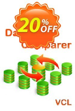 Database Comparer VCL Coupon, discount 20% OFF Database Comparer VCL, verified. Promotion: Staggering discount code of Database Comparer VCL, tested & approved