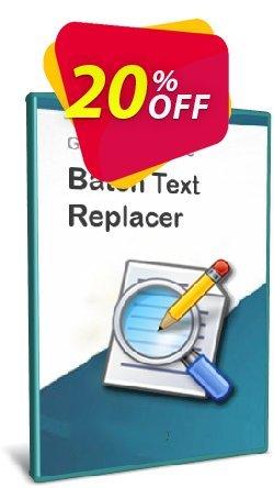 Batch Text Replacer Coupon discount Coupon code Batch Text Replacer