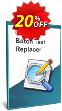 Batch Text Replacer - 10-User License Coupon discount Coupon code Batch Text Replacer - 10-User License