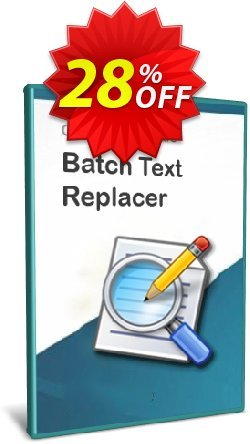 Batch Text Replacer - 15-User License Coupon discount Coupon code Batch Text Replacer - 15-User License