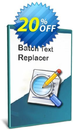 Batch Text Replacer - 5-User License Coupon discount Coupon code Batch Text Replacer - 5-User License