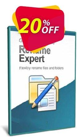 Rename Expert - 10-User License Coupon, discount Coupon code Rename Expert - 10-User License. Promotion: Rename Expert - 10-User License offer from Gillmeister Software