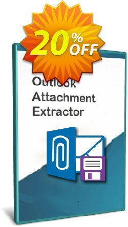 Outlook Attachment Extractor 3 - 20-User License Coupon, discount Coupon code Outlook Attachment Extractor 3 - 20-User License. Promotion: Outlook Attachment Extractor 3 - 20-User License offer from Gillmeister Software