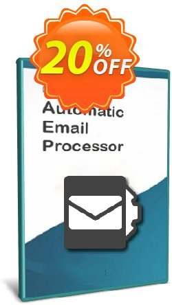 Automatic Email Processor 2 - Ultimate Edition - 10-User License Coupon, discount Coupon code Automatic Email Processor 2 (Ultimate Edition) - 10-User License. Promotion: Automatic Email Processor 2 (Ultimate Edition) - 10-User License offer from Gillmeister Software