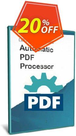 Automatic PDF Processor - 5-user license - 1 year  Coupon, discount Coupon code Automatic PDF Processor - 5-user license (1 year). Promotion: Automatic PDF Processor - 5-user license (1 year) offer from Gillmeister Software