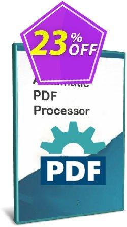 Automatic PDF Processor - Enterprise license - 1 year  Coupon discount Coupon code Automatic PDF Processor - Enterprise license (1 year)