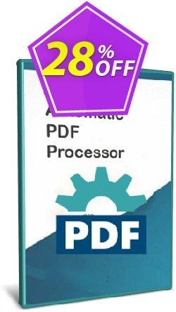 Automatic PDF Processor - 100-user license - 3 years  Coupon, discount Coupon code Automatic PDF Processor - 100-user license (3 years). Promotion: Automatic PDF Processor - 100-user license (3 years) offer from Gillmeister Software