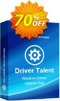 Driver Talent Pro - 5 PCs / Lifetime  Coupon, discount 70% OFF Driver Talent Pro (5 PCs / Lifetime), verified. Promotion: Big sales code of Driver Talent Pro (5 PCs / Lifetime), tested & approved