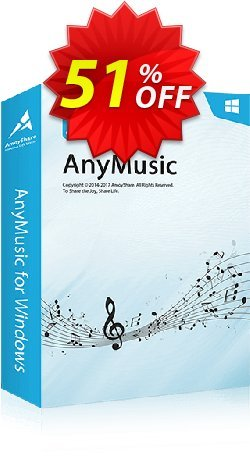 AnyMusic Coupon, discount Coupon code AnyMusic Win Annually. Promotion: AnyMusic Win Annually offer from Amoyshare