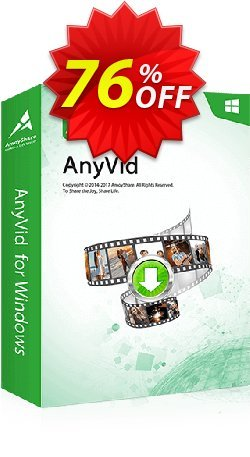 Claim 51% OFF AnyVid Win Lifetime Coupon discount February, 2020