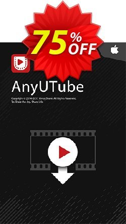 AnyUTube for Mac Lifetime - 10 PCs  Coupon, discount Coupon code AnyUTube Mac Lifetime (10 PCs). Promotion: AnyUTube Mac Lifetime (10 PCs) offer from Amoyshare