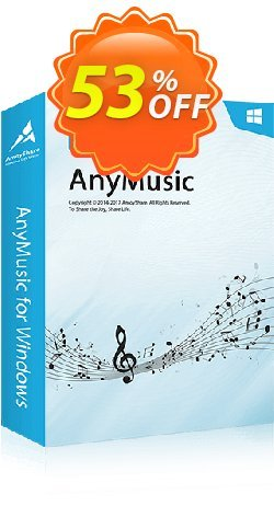 AnyMusic 6-Month Subscription Coupon, discount Coupon code AnyMusic Win 6-Month Subscription. Promotion: AnyMusic Win 6-Month Subscription offer from Amoyshare