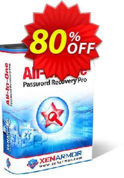 XenArmor All-In-One Password Recovery Pro Coupon, discount Coupon code XenArmor All-In-One Password Recovery Pro Personal Edition 2021. Promotion: XenArmor All-In-One Password Recovery Pro Personal Edition 2021 offer from XenArmor Security Solutions Pvt Ltd