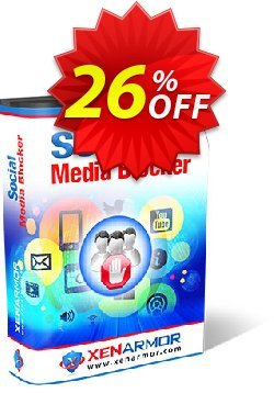 XenArmor Social Media Blocker Coupon, discount Coupon code XenArmor Social Media Blocker Personal Edition. Promotion: XenArmor Social Media Blocker Personal Edition offer from XenArmor Security Solutions Pvt Ltd