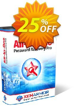 XenArmor All-In-One Password Recovery Pro Enterprise Edition Coupon, discount Coupon code XenArmor All-In-One Password Recovery Pro Enterprise Edition. Promotion: XenArmor All-In-One Password Recovery Pro Enterprise Edition offer from XenArmor Security Solutions Pvt Ltd
