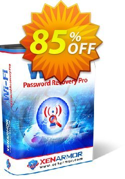 XenArmor WiFi Password Recovery Pro Coupon discount Coupon code XenArmor WiFi Password Recovery Pro Personal Edition. Promotion: XenArmor WiFi Password Recovery Pro Personal Edition offer from XenArmor Security Solutions Pvt Ltd