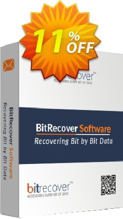 BitRecover QuickData EML to PDF Converter Coupon, discount Coupon code QuickData EML to PDF Converter - Standard License. Promotion: QuickData EML to PDF Converter - Standard License offer from BitRecover