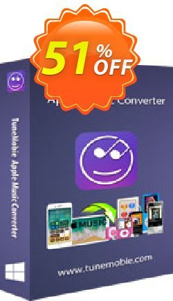 TuneMobie Apple Music Converter - Family License  Coupon, discount Coupon code TuneMobie Apple Music Converter (Family License). Promotion: TuneMobie Apple Music Converter (Family License) Exclusive offer for iVoicesoft