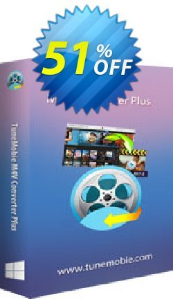 TuneMobie M4V Converter Plus - Family License  Coupon, discount Coupon code TuneMobie M4V Converter Plus (Family License). Promotion: TuneMobie M4V Converter Plus (Family License) Exclusive offer for iVoicesoft