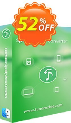TuneMobie Spotify Music Converter for Mac - Lifetime License  Coupon, discount Coupon code TuneMobie Spotify Music Converter for Mac (Lifetime License). Promotion: TuneMobie Spotify Music Converter for Mac (Lifetime License) Exclusive offer for iVoicesoft