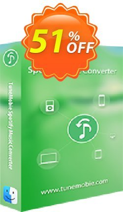 TuneMobie Spotify Music Converter for Mac - Family License  Coupon, discount Coupon code TuneMobie Spotify Music Converter for Mac (Family License). Promotion: TuneMobie Spotify Music Converter for Mac (Family License) Exclusive offer for iVoicesoft
