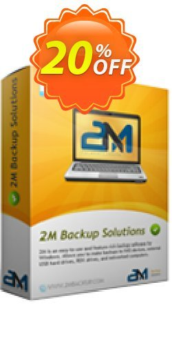 2M Backup Home Edition Coupon discount 2M Backup Home Edition imposing discounts code 2020. Promotion: imposing discounts code of 2M Backup Home Edition 2020