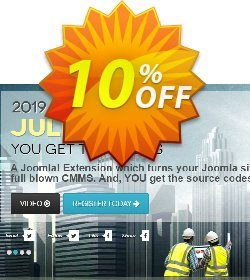 Julio CMMS for Joomla  - Starter License Coupon, discount Julio CMMS for Joomla  - Starter License Exclusive discount code 2020. Promotion: Hottest deals code of Julio CMMS for Joomla  - Starter License 2020