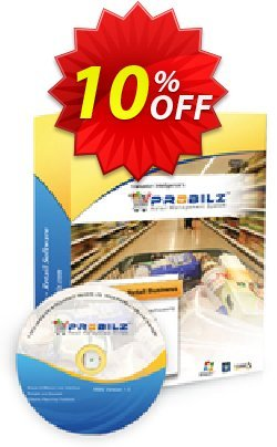 Vanuston PROBILZ Standard - Subscription/year  Coupon, discount PROBILZ-STD-Subscription License/year Exclusive promo code 2019. Promotion: Exclusive promo code of PROBILZ-STD-Subscription License/year 2019