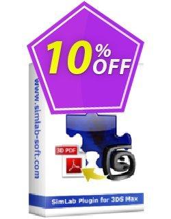 Visably 3D PDF for 3ds Max Coupon, discount 3D PDF for 3ds Max Marvelous discount code 2020. Promotion: Marvelous discount code of 3D PDF for 3ds Max 2020