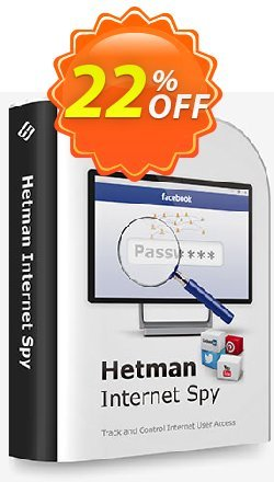 Hetman Internet Spy Coupon, discount 20% OFF Hetman Internet Spy, verified. Promotion: Staggering promo code of Hetman Internet Spy, tested & approved