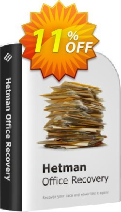 Hetman Office Recovery Coupon, discount Hetman Office Recovery Amazing deals code 2020. Promotion: Amazing deals code of Hetman Office Recovery 2020