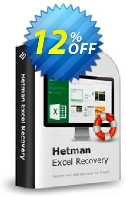 Hetman Excel Recovery Coupon, discount Hetman Excel Recovery Staggering discount code 2020. Promotion: Staggering discount code of Hetman Excel Recovery 2020