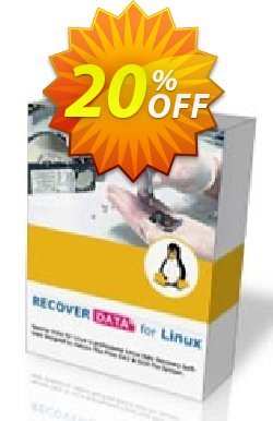 Recover Data for Linux - Linux OS - Corporate License Coupon, discount Recover Data for Linux (Linux OS) - Corporate License Formidable deals code 2020. Promotion: Formidable deals code of Recover Data for Linux (Linux OS) - Corporate License 2020