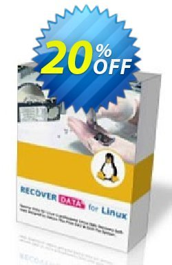 Recover Data for Linux - Windows OS - Personal License Coupon, discount Recover Data for Linux (Windows OS) - Personal License Marvelous discounts code 2020. Promotion: Marvelous discounts code of Recover Data for Linux (Windows OS) - Personal License 2020