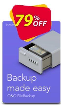 O&O FileBackup - for 5 PCs  Coupon discount 50% OFF O&O FileBackup (5 PCs), verified. Promotion: Big promo code of O&O FileBackup (5 PCs), tested & approved