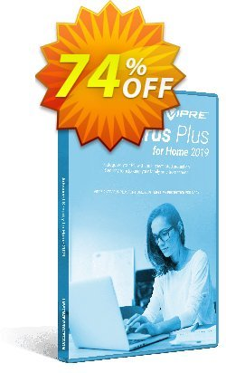 VIPRE Antivirus Plus for Home Coupon, discount 40% OFF VIPRE Antivirus Plus for Home Nov 2019. Promotion: Special promotions code of VIPRE Antivirus Plus for Home, tested in November 2019