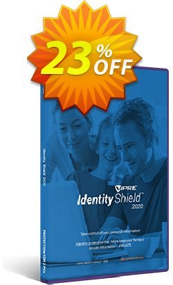 VIPRE Identity Shield Coupon, discount 20% OFF VIPRE Identity Shield Nov 2020. Promotion: Special promotions code of VIPRE Identity Shield, tested in November 2020