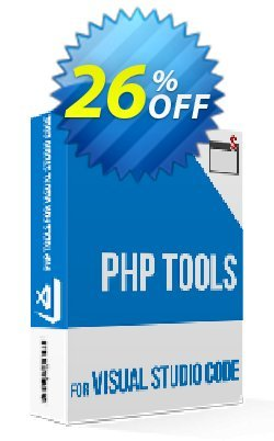PHP Tools for Visual Studio Code - individual  Coupon, discount PHP Tools for Visual Studio Code - 1yr Individual Subscription Imposing sales code 2020. Promotion: Imposing sales code of PHP Tools for Visual Studio Code - 1yr Individual Subscription 2020