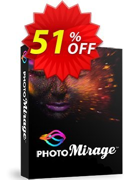 PhotoMirage Coupon, discount 55% OFF PhotoMirage 2021. Promotion: Awesome deals code of PhotoMirage, tested in {{MONTH}}